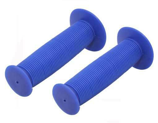 Bicycle Handle Bar Mushroom Grips Blue BMX Boys And Girls Cr