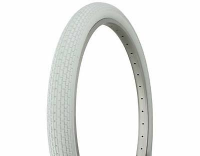 Pair of Duro 26 x 2.125 Beach Cruiser Colored Tires- WHITE