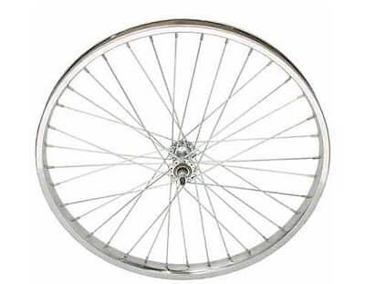 "BICYCLE STEEL FRONT RIM  24"" X 2.125 CRUISER LOWRIDER CHOPPER BMX CYCLING BIKES"