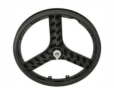 "BICYCLE 20"" REAR FREE WHEEL STEALTH MAG 3-SPOKE BEACH CRUISER LOWRIDER BMX MTB"