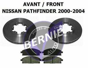 FRONT BRAKE KIT Freins AVANT NISSAN PATHFINDER 2000-2004