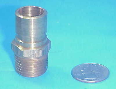 """25 Each) NEW Brass DME NS-554 Male Quick Coupler Plug  1/2"""" cost over $1.40 each"""