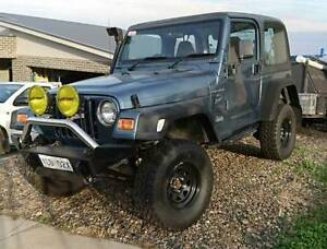 1999 Jeep Wrangler Canberra Region Preview