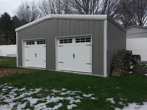 STEEL BUILDINGS & FOUNDATIONS COMPLETE D.I.Y PACKAGES