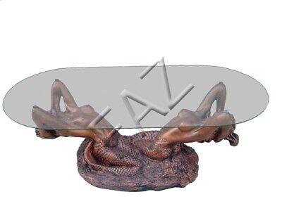 ch Statue Figur Tisch Beistell Sofa Wohnzimmer Meerjungfrau (Kleine Meerjungfrau Figuren)