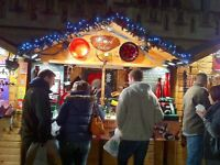 Bath Christmas Market - special person to run our chalet