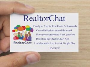 RealtorChat - Finally an App for Real Estate Professionals -FREE