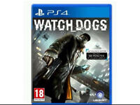 Watch dogs game for PS4 PlayStation excellent condition
