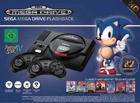 Sega Mega Drive Flashback HD with 82 built-in games (pristine)