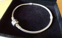 Nouveau prix- Bracelet Pandora 20 cm -NEUF