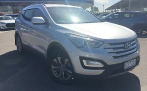 2012 Hyundai Santa Fe DM MY13 Active Silver 6 Speed Sports Automatic Wagon Meadow Heights Hume Area Preview