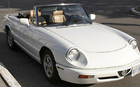 1991 ALFA ROMEO SPIDER WITH ONLY 73,500 KMS