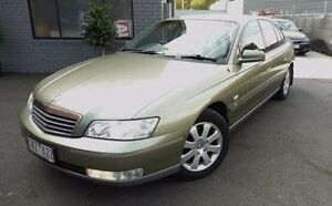 2003 Holden Statesman WK Green 4 Speed Automatic Sedan Lilydale Yarra Ranges Preview