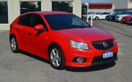 2013 Holden Cruze JH Series II MY13 SRi-V Red 6 Speed Manual Hatchback