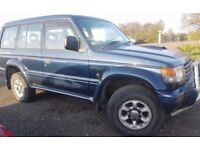 Shogun estate deisel 1996 automatic 7 seater 2.8 turbo diesel