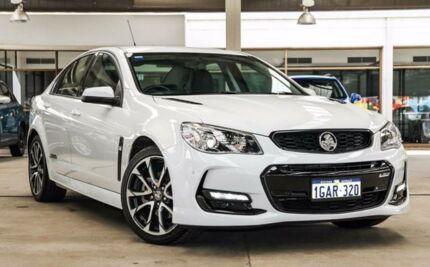 2015 Holden Commodore SS V VF II MY16 White Manual Sedan