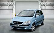 2010 Hyundai Getz TB MY09 S Blue 5 Speed Manual Hatchback Granville Parramatta Area Preview