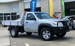 2009 Mazda BT-50 UNY0E4 DX Silver 5 Speed Manual Cab Chassis