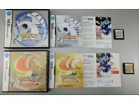 Pokémon heart gold and soul silver for DS