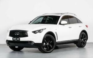 2012 Infiniti FX50 S51 S Premium White 7 Speed Sports Automatic Wagon
