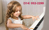 PIANO LESSONS for CHILDREN - SPECIAL until DEC 31st