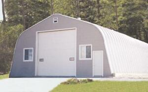 Steel building  900 sq ft with 4/12 pitch