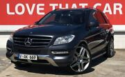 2012 Mercedes-Benz ML250 W166 BlueTEC 7G-Tronic + Grey 7 Speed Sports Automatic Wagon Preston Darebin Area Preview