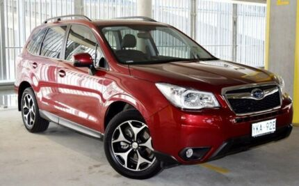 2014 Subaru Forester MY14 2.0D-S Red 6 Speed Manual Wagon