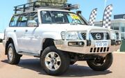 2012 Nissan Patrol GU 7 MY10 ST White 4 Speed Automatic Wagon East Rockingham Rockingham Area Preview