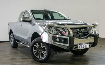 2016 Mazda BT-50 UR0YG1 XTR Freestyle Silver 6 Speed Sports Automatic Utility Myaree Melville Area Preview