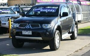 2012 Mitsubishi Triton MN MY12 GL-R Double Cab Grey 4 Speed Automatic Utility Altona North Hobsons Bay Area Preview