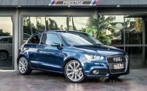 2010 Audi A1 8X 1.4 TFSI Ambition Blue 7 Speed Auto Direct Shift Hatchback Bowen Hills Brisbane North East Preview