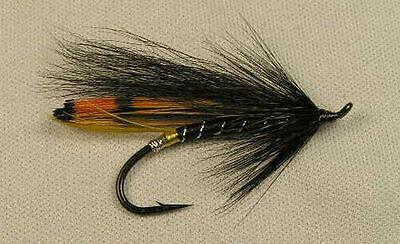 Salmon Flies 3 X Dee Fox Monkeys Tubes 20mm Brass
