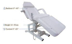 GL Etobicoke 3 Motor Electric Facial Massage Eyelash Bed Table
