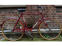 Classic Vintage dutch bike RALEIGH UNIVERSAL ,frame size 20inch - PERFECT CONDITION like a NEW ONE !
