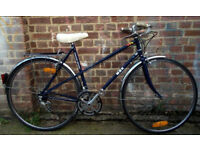 French vintage racing ladies bike MBK frame size 20in - 10 speed, serviced - Welcome for ride XMAS
