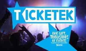 Ticketek $100 eGift card Plympton Park Marion Area Preview