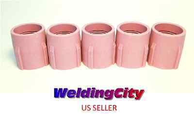 5-pk Tig Welding Large Gas Lens Ceramic Cup 53n89 15 Us Seller Fast Ship