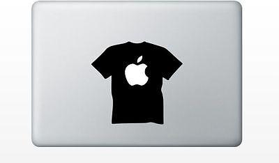 Macbook tshirt sticker pro air 11 13 15 17 retina laptop apple decal