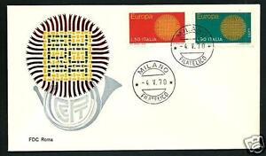 Italia-1970-Europa-FDC-1-Giorno-di-emissione