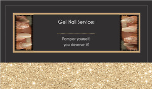 Gel nail services in my home, be my guest