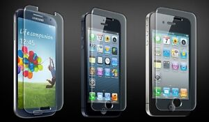 TEMPERED GLASS SCREEN PROTECTORS, INSTALLATION BY US