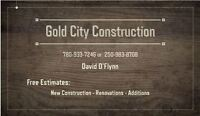 New Building, Renovation or Addition Contractor