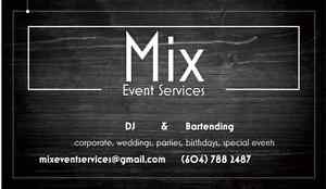 Bartenders/DJ/Servers-all female team, any special events