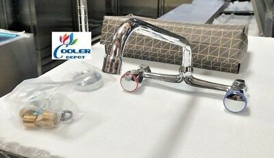 New Commercial Sink Hot Cold Faucet Kitchen Restaurant Bar Model Fc71