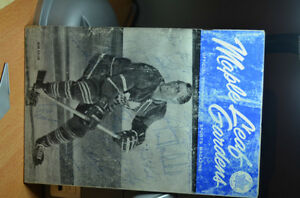 Toronto Maple Leaf Program 1963 AUTOGRAPHED