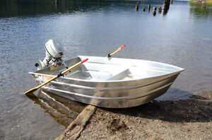 Looking for DAMAGED aluminum 8-10' boat