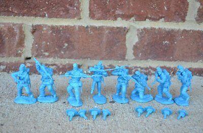 Paragon Civil War Union Infantry Set 1 & 2 1/32 54MM Toy Soldiers