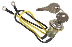 8n3679c ignition key starter switch ford tractors 8n 2n 9n. Black Bedroom Furniture Sets. Home Design Ideas