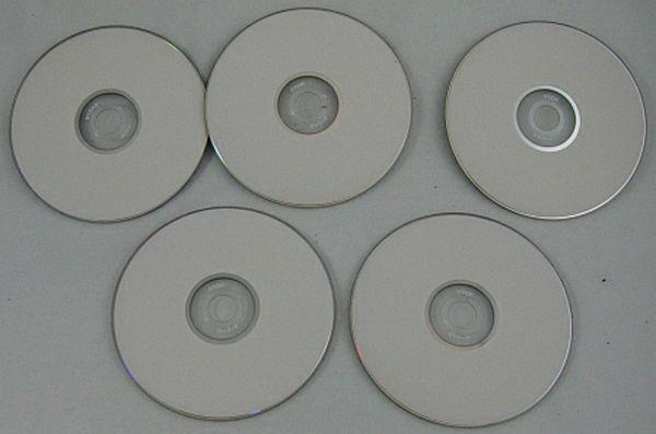 TDK Blank DVD+R Lot of 5 4GB